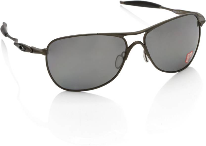 35b85b56de5 Buy Oakley TITANIUM CROSSHAIR Aviator Sunglass Grey For Men Online ...