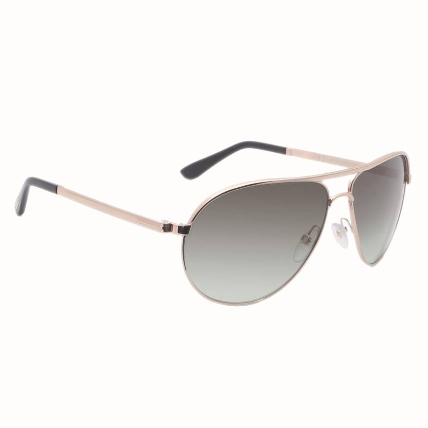 cda714c4b1ae Buy Tom Ford Aviator Sunglasses Green For Men Online   Best Prices ...