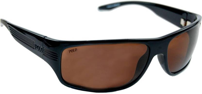 751190ef7ce Buy Polo Ralph Lauren Round Sunglasses Brown For Men Online   Best ...