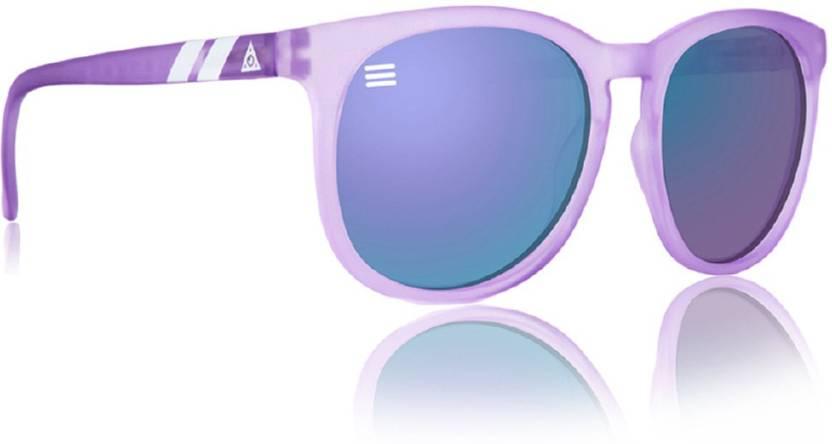 e13df4cb783 Buy Blenders Eyewear Round Sunglasses Violet For Men   Women Online ...