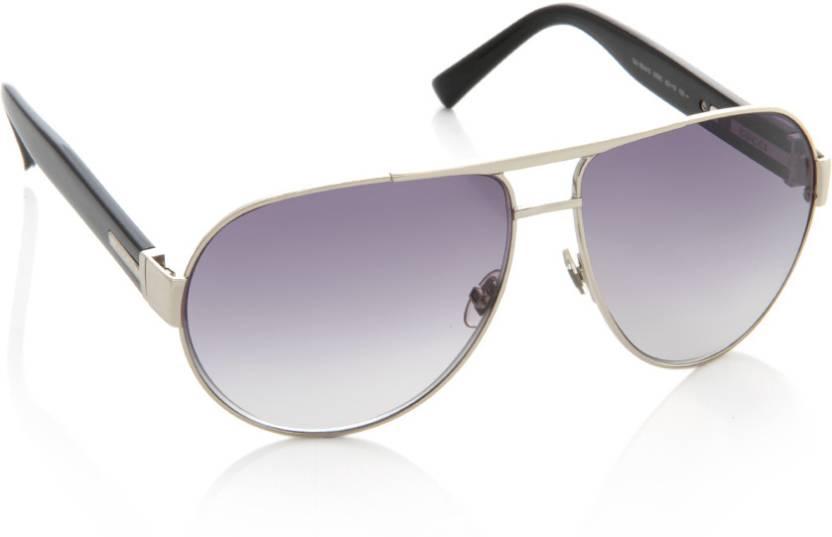 60e78e85d72 Buy GUCCI Aviator Sunglasses Violet For Men   Women Online   Best ...