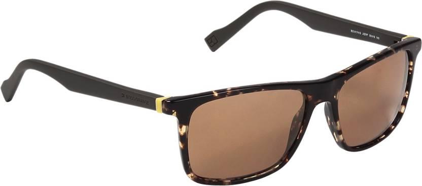 034e44ec7a5 Buy Hugo Boss Wayfarer Sunglasses Brown For Men   Women Online ...
