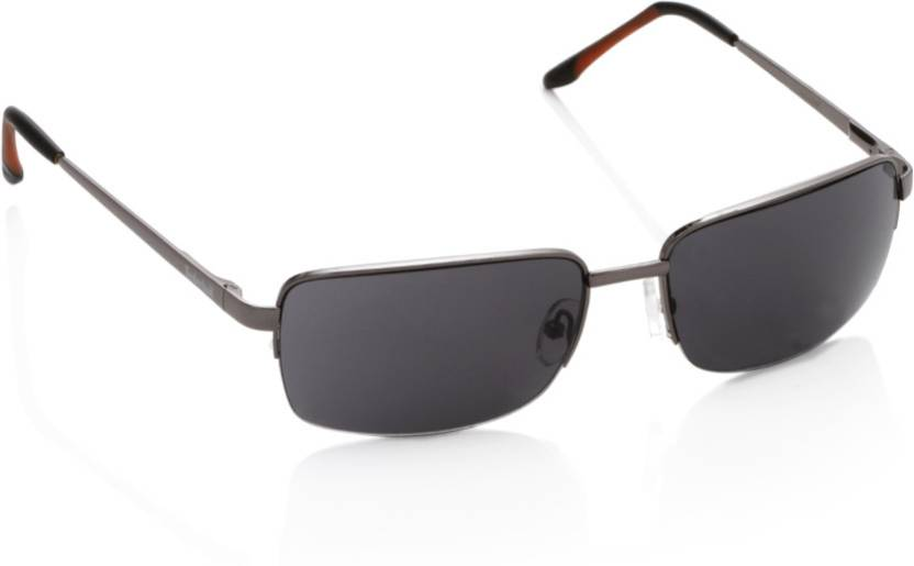 93146ed9bff Buy Timberland Rectangular Sunglasses Black For Men Online   Best ...