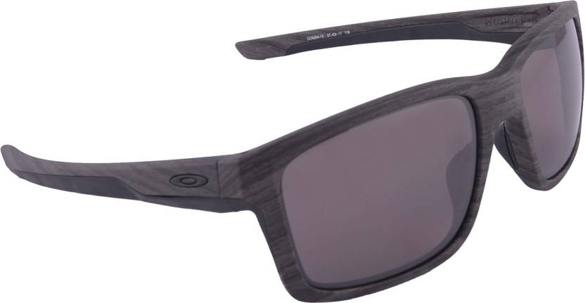 4185d5a388f Buy Oakley MAINLINK Wayfarer Sunglass Grey For Men Online   Best ...