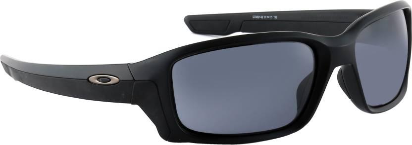 1ab8c879ab Buy Oakley STRAIGHTLINK Sports Sunglass Grey For Men   Women Online ...
