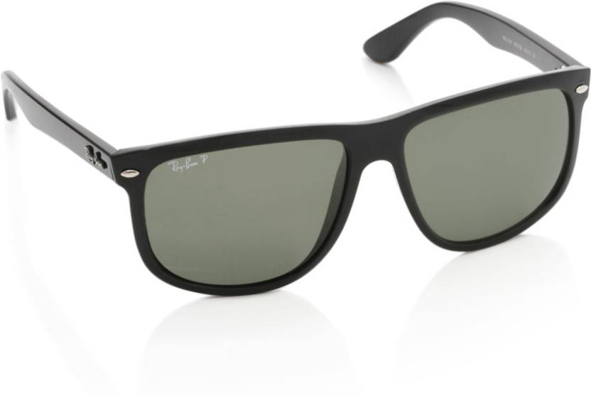 9f96f3204 Buy Ray-Ban Wayfarer Sunglasses Green For Men Online @ Best Prices ...