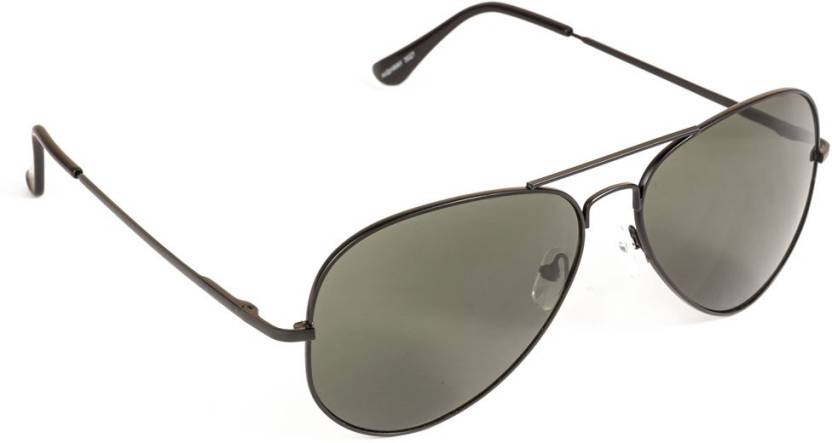 e242847f81b Buy VESPL Aviator Sunglasses Black For Men Online   Best Prices in ...