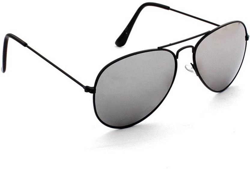 513c138f97c4 Buy Just Colours Aviator Sunglasses Grey For Men Online   Best ...