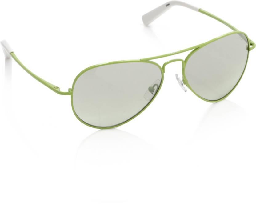 b79ba87a91 Buy Nautica Aviator Sunglasses Green