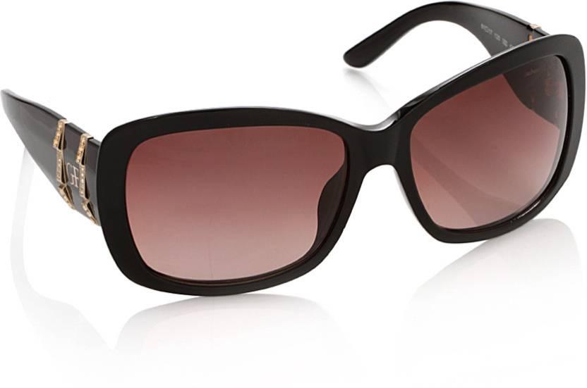 60e6c70a66e Buy Gianfranco Ferre Over-sized Sunglasses Brown For Women Online ...