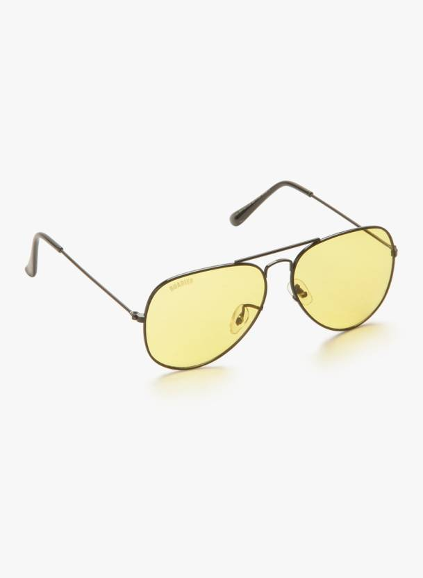 3a7bf971a0 Buy MTV Roadies Aviator Sunglasses Yellow For Men Online   Best ...