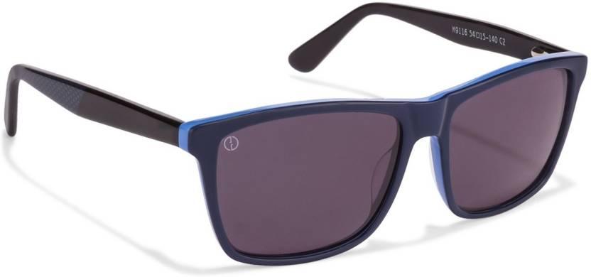 7afd3dd10a Buy John Jacobs Wayfarer Sunglasses Blue For Men   Women Online ...