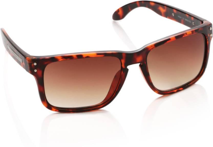 16e6e79cec33 Buy Van Heusen Wayfarer Sunglasses Brown For Men & Women Online ...