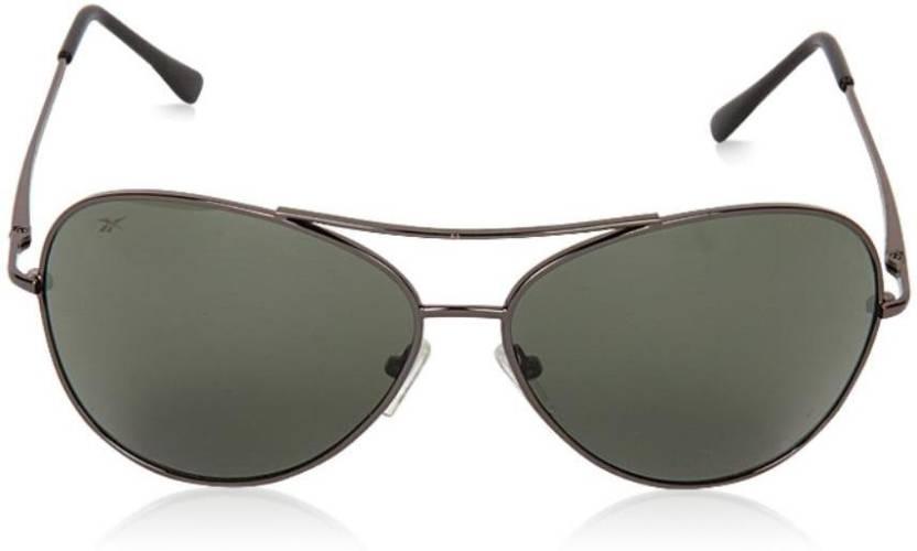 fbc44014c8c Buy REEBOK Aviator Sunglasses Green For Men   Women Online   Best ...