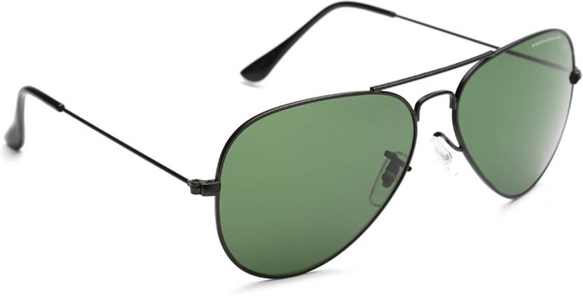 Provogue PV1025-Blk-G15 Aviator Sunglasses