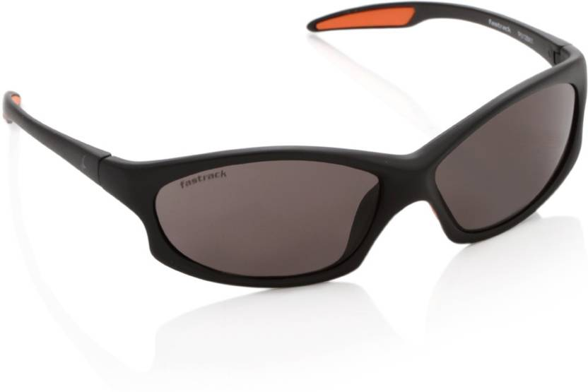 9eb880d842 Buy Fastrack Round Sunglasses Brown For Men Online   Best Prices in ...