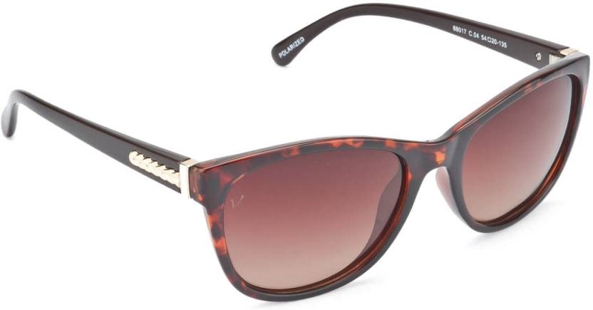 f105846bff Buy Velocity Cat-eye Sunglasses Brown For Women Online   Best Prices ...