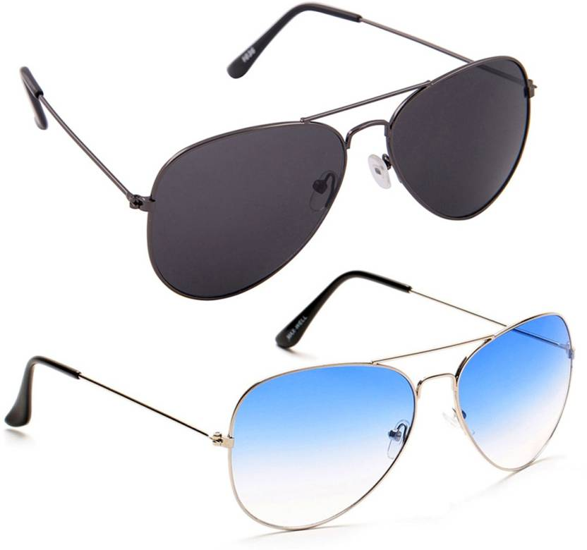 37239b24fc2 Buy Savannah Aviator Sunglasses Multicolor For Men Online   Best ...