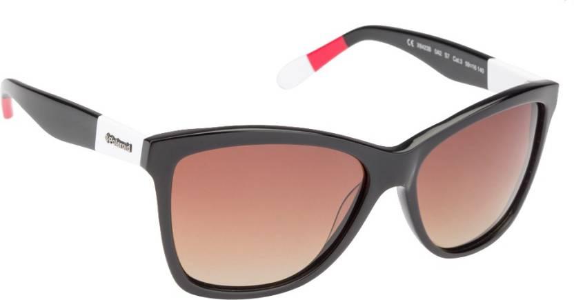 6c0220ccff Buy Polaroid Wayfarer Sunglasses Brown For Men   Women Online   Best ...