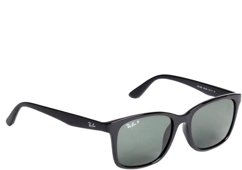 66a1e2842f Buy Ray-Ban Wayfarer Sunglasses Black For Men Online @ Best Prices ...