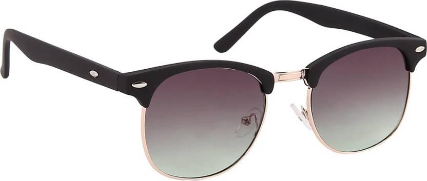f67437aedf0 Buy Olvin Wayfarer Sunglasses Green For Men   Women Online   Best ...