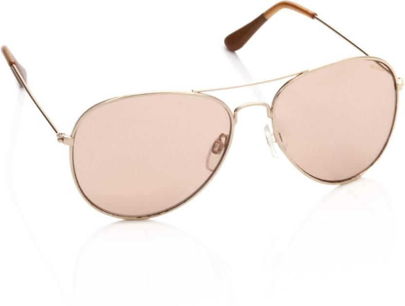 a835347fa8 Buy Revlon Aviator Sunglasses Brown For Men Online   Best Prices in ...