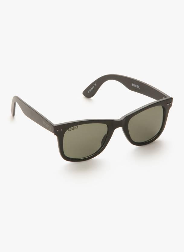 c9141d540e6 Buy MTV Roadies Wayfarer Sunglasses Green For Men Online   Best ...