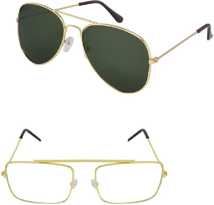 a004b4498791e Buy Amour-propre Rectangular Sunglasses Black