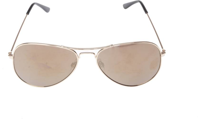 f185cba87b Buy Jack   Jones Aviator Sunglasses Brown For Men Online   Best ...