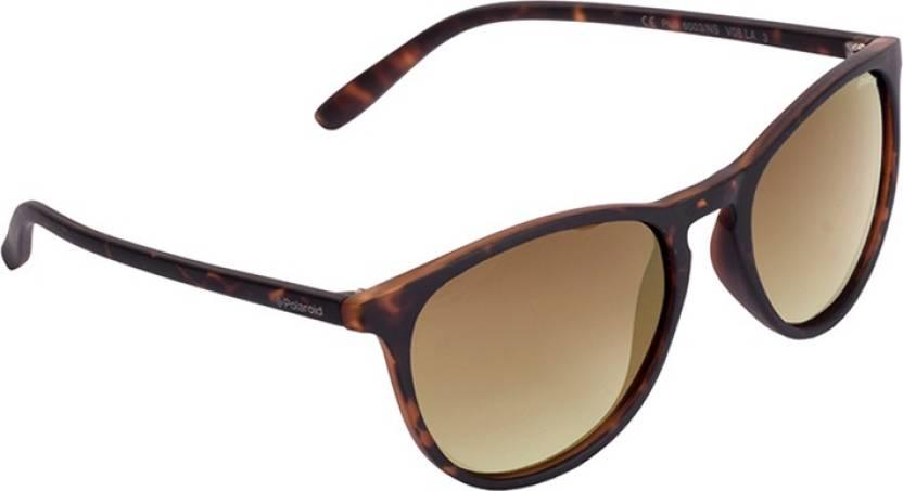 e740ab896b Buy Polaroid Wayfarer Sunglasses Brown For Girls Online   Best ...