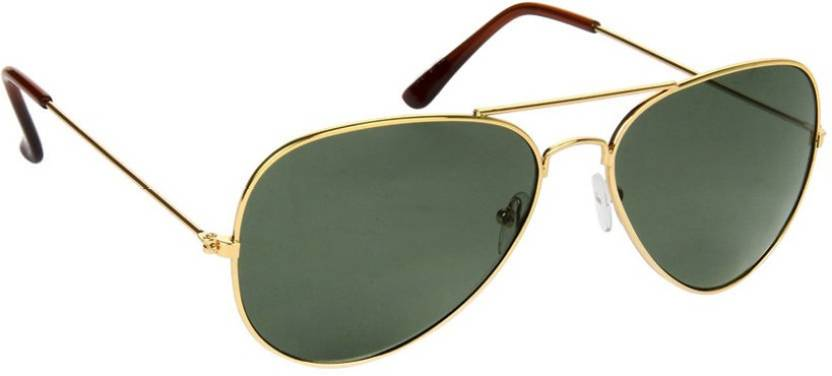 038277a20d5a Buy Provogue Aviator Sunglasses Green For Men Online @ Best Prices ...
