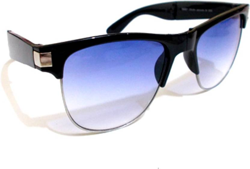e43e3caf9eb Buy faslity Wayfarer Sunglasses Blue For Men Online   Best Prices in ...