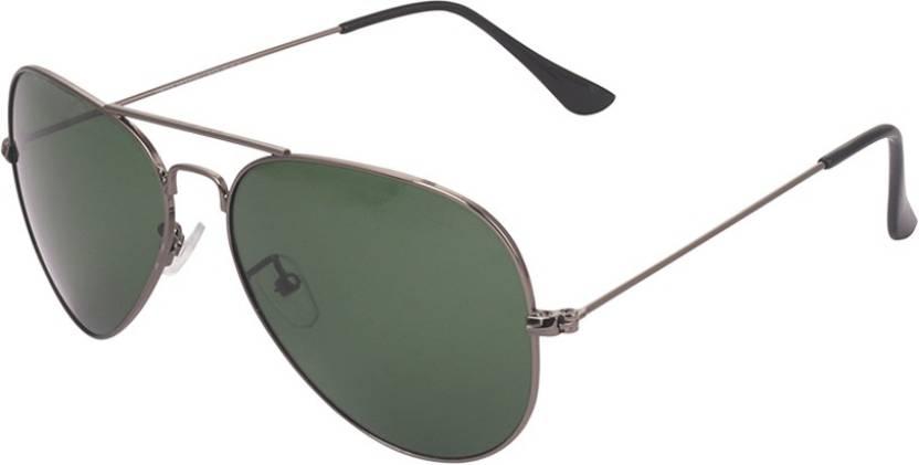 Buy Swiss Military Aviator Sunglasses Green For Men   Women Online ... 79a28a9f02