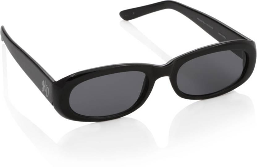 ebd5f4eee01 Buy Harley Davidson Oval Sunglasses Black For Women Online   Best ...