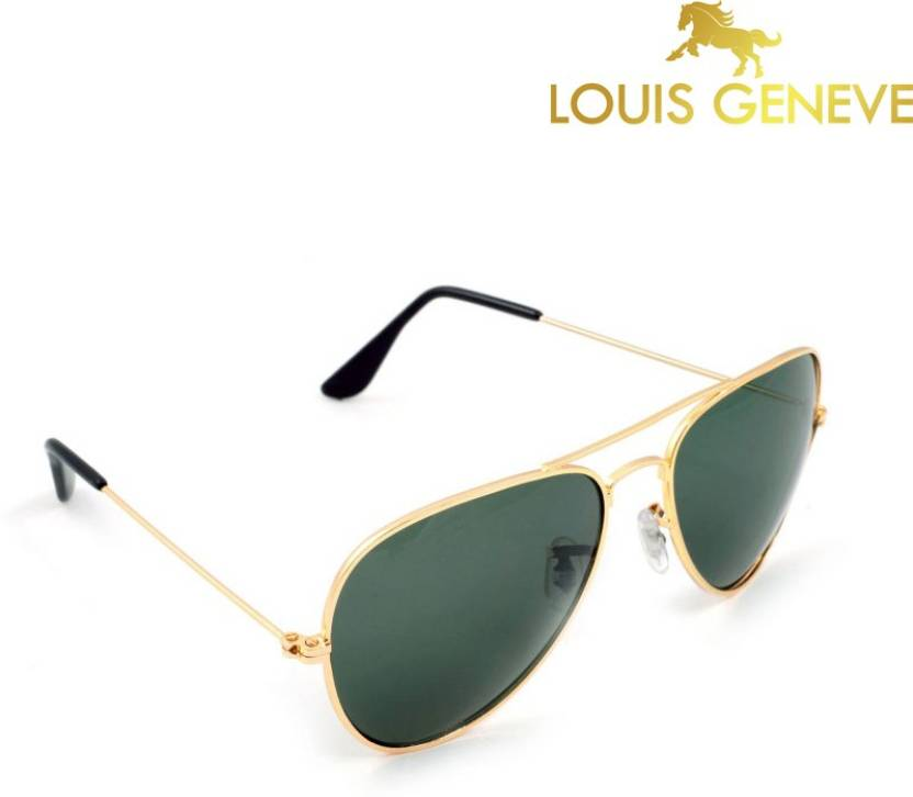 Louis Geneve Aviator Sunglasses