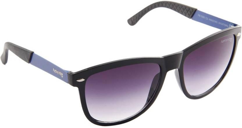 1127911770e Buy Funky Boys Wayfarer Sunglasses Blue For Men Online   Best Prices ...