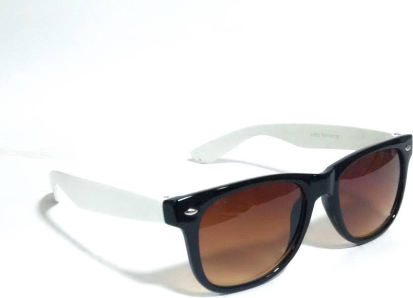 20efac82ec Buy Sigma Wayfarer Sunglasses Brown For Men   Women Online   Best ...