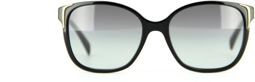 f17b47545f Buy Prada Rectangular Sunglasses Grey For Men Online   Best Prices ...