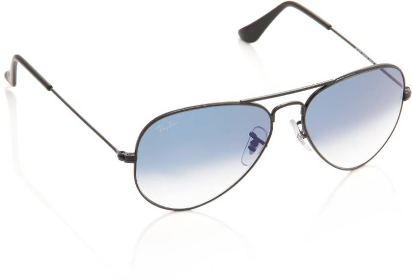 202014066bb1 Buy Ray-Ban Round Sunglasses Blue For Men Online @ Best Prices in ...