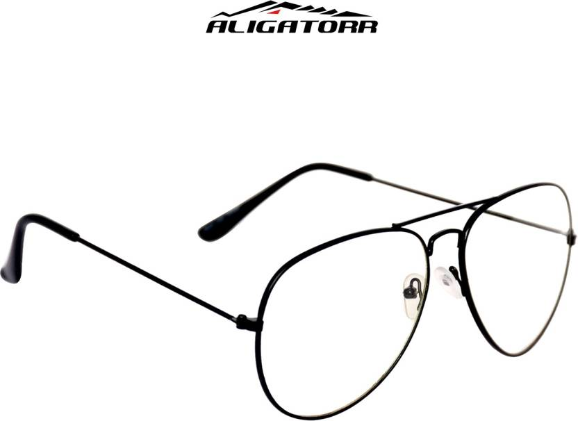 54959505e20c Buy Aligatorr Spectacle Sunglasses Clear For Men & Women Online ...