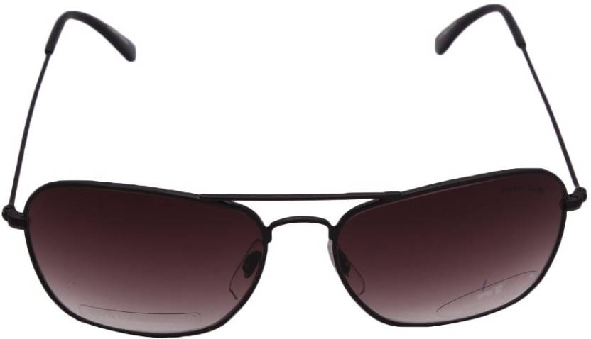 0b4fa2799b3 Buy Miami Blues Round Sunglasses Brown For Men Online   Best Prices ...