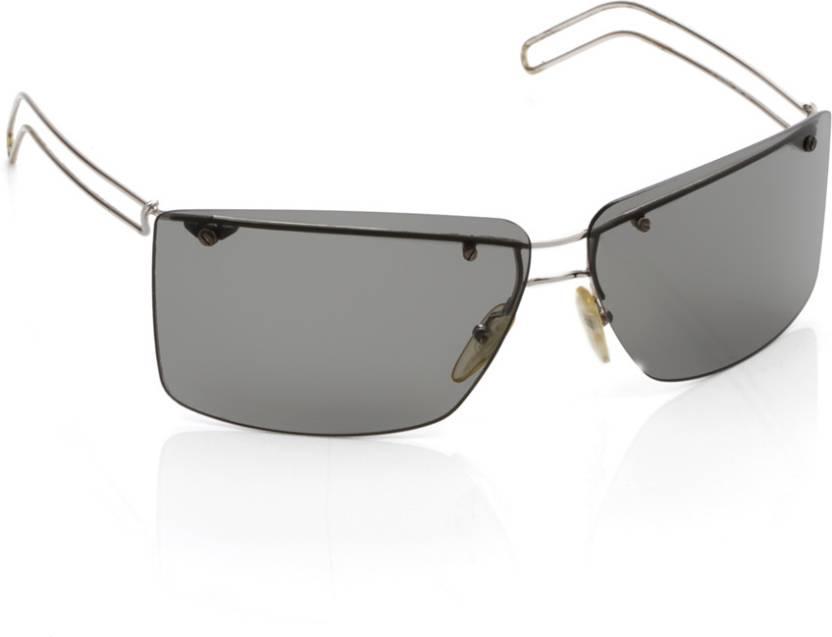 8f65479ff9 Buy Diesel Rectangular Sunglasses Grey For Men Online   Best Prices ...