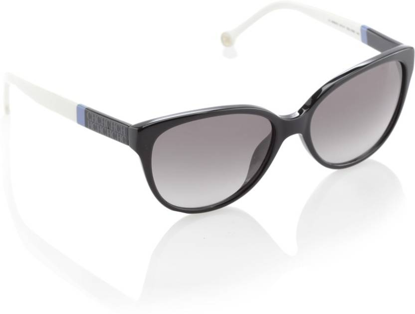 32dec84f541b5 Buy Carolina Herrera Round Sunglasses Black For Women Online   Best ...
