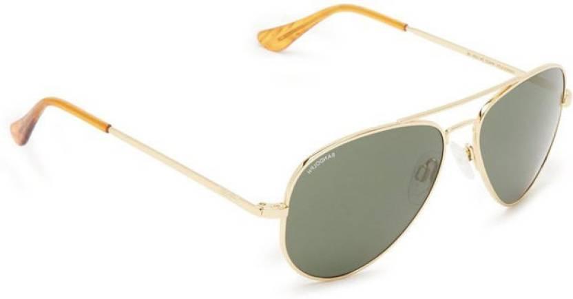 eb869ffe073 Buy Randolph Aviator Sunglasses Grey For Men Online   Best Prices in ...