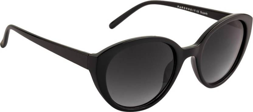 Get best deal for Farenheit Cat-eye Sunglasses  (Grey) at Compare Hatke
