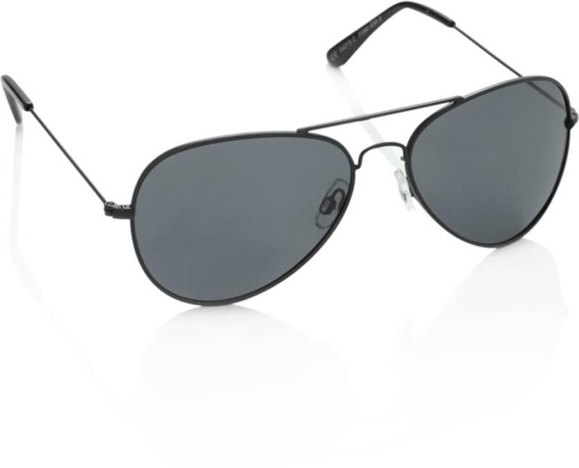 27f3eed914e6 Buy Polaroid Aviator Sunglasses Grey For Men   Women Online   Best ...