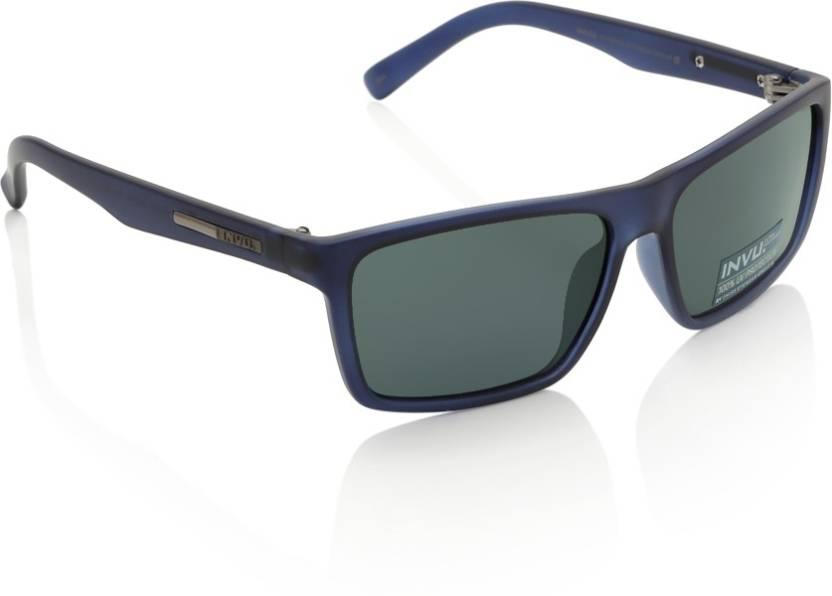d2b92b50462 INVU INVU 107 Sunglasses Source · Buy Invu Wayfarer Sunglasses Green For Men  Online Best Prices in