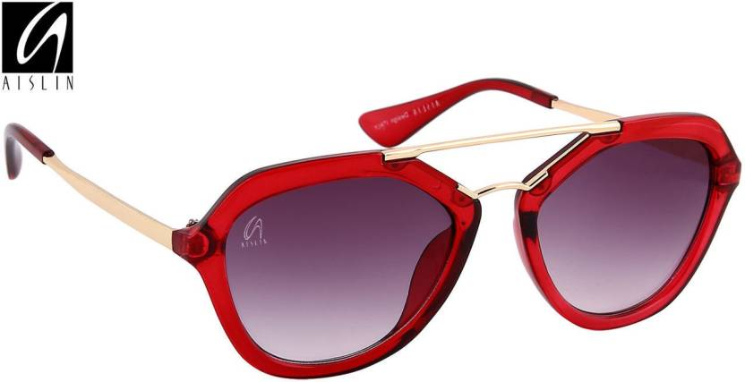 81b94034ee2b1 Buy Aislin Aviator Sunglasses Red
