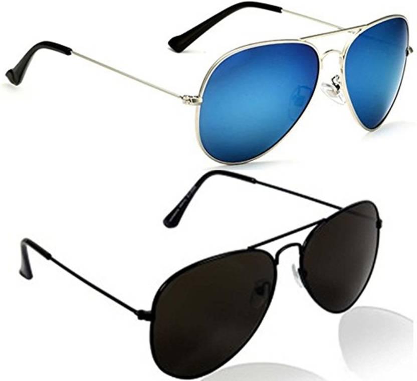 ea9d3eb821 Buy just style Aviator Sunglasses Blue