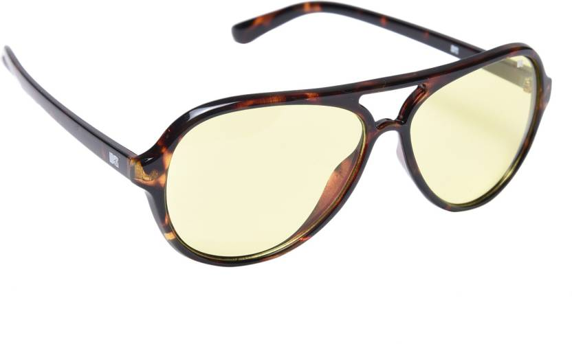 2fb6461835 Buy MTV Aviator Sunglasses Yellow For Men Online   Best Prices in ...